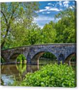 Burnside Bridge, Antietam Canvas Print
