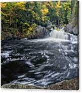 Buttermilk Falls Gulf Hagas Me. Canvas Print