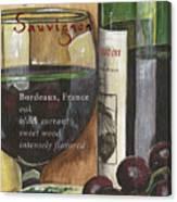 Cabernet Sauvignon Canvas Print