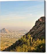Cactus Mountain Canvas Print