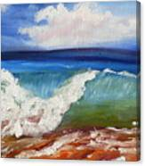 California Seascape Canvas Print