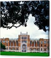 Campus Of Rice University Canvas Print