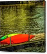 Canal De Lachine Canvas Print