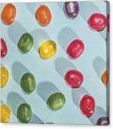 Candy Scattered Canvas Print