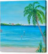Cape Coral Beach Canvas Print