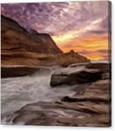 Cape Kiwanda Sunset Canvas Print