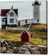 Cape Neddick Lighthouse 4 Canvas Print