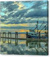 Cape Purse Seiner Canvas Print