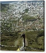 Capetown Cablecar Canvas Print