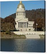 Capital Of West Virginia In Charleston Canvas Print