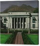 Capitol Building Negros Oriental Canvas Print