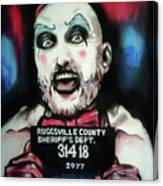 Captain Spaulding Canvas Print