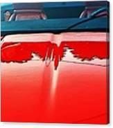 Car Hood Reflection Bump Map Canvas Print