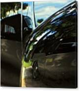 Car Reflection 8 Canvas Print