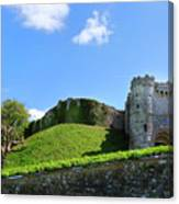 Carisbrooke Castle - Isle Of Wight Canvas Print