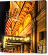 Carnegie Hall Canvas Print
