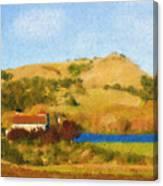 Carneros Valley Canvas Print
