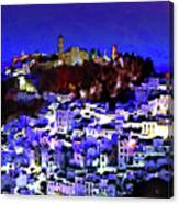 Casares By Night Canvas Print