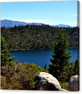Cascade Lake Canvas Print