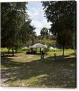 Cassadaga Spiritualist Camp In Florida Canvas Print