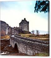 Castle Eilean Scotland Canvas Print