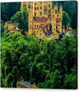 Castle Hohenschwangau Canvas Print