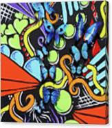 Catch My Vibe Canvas Print