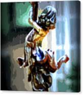Catching Rain Canvas Print