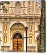 Catedral Antigua Guatemala - Guatemala Vii Canvas Print