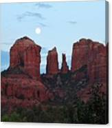 Cathedral Rock Moon 081913 A2 Canvas Print