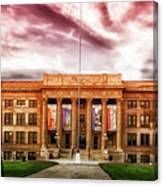 Central High School - Pueblo Colorado Canvas Print