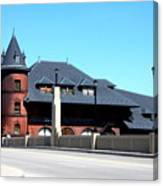 Central New Jersey Railroad Station Canvas Print