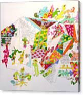 Central Park 2099 Canvas Print