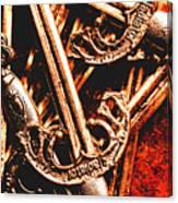 Centurion Of Battle Canvas Print