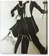 Cha Cha In The Shadows Canvas Print