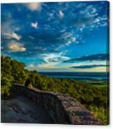 Champlain Lookout Canvas Print