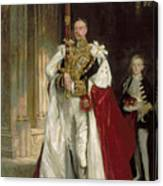 Charles Stewart Sixth Marquess Of Londonderry Canvas Print