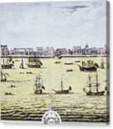 Charleston, S.c., 1739 Canvas Print