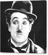 Charli Chaplin Canvas Print