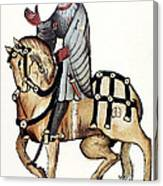 Chaucer: Canterbury Tales Canvas Print