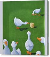 Cheese And Quackers Canvas Print