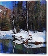 Chena Hot Springs Canvas Print