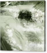 Cherry Creek White Water Canvas Print