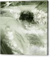 Cherry Creek White Water Canvas Print