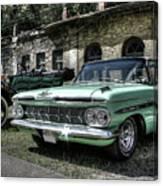 Chevrolet El Camino Canvas Print