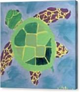 Chiaras Turtle Canvas Print