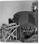 Chicago Pile-1, Scale Model Canvas Print