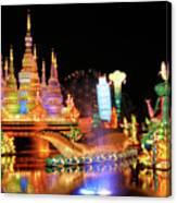Chinese Lantern Festival Canvas Print