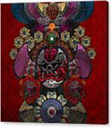 Chinese Masks - Large Masks Series - The Demon Canvas Print