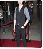 Chris Colfer At Arrivals For American Canvas Print